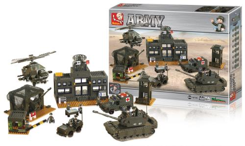 M38-B7100 Building Blocks Army Series Headquarter