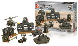 Sluban M38-B7100 Building Blocks Army Series Headquarter
