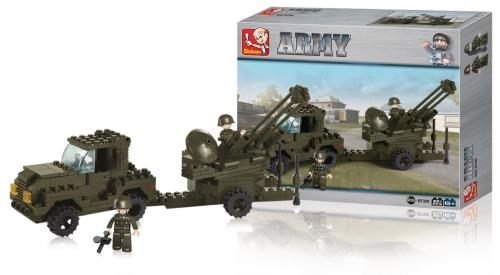 M38-B7300 Building Blocks Army Series Anti-Aircraft Gun