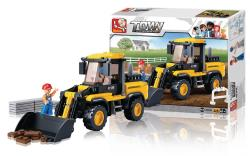 Sluban M38-B0538 Building Blocks Town Series Wheel Loader
