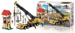 Sluban M38-B0553 Building Blocks Town Series Telescopic Crane