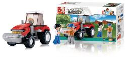 Sluban M38-B0556 Building Blocks Town Series Tractor