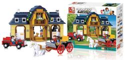 Sluban M38-B0560 Building Blocks Town Series Horse Farm