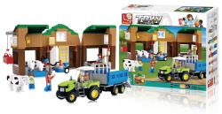 Sluban M38-B0561 Building Blocks Town Series Farm