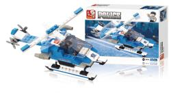 Sluban M38-B0185 Building Blocks Police Series Police Helicopter