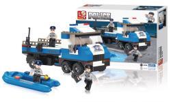 Sluban M38-B0186 Building Blocks Police Series Police Truck