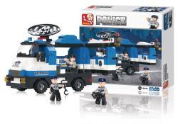 Sluban M38-B0187 Building Blocks Police Series Mobile Police Post