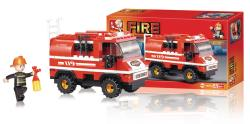 Sluban M38-B0276 Building Blocks Fire Series Fire Truck