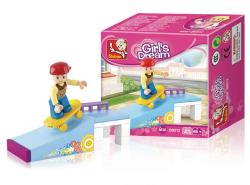 Sluban M38-B0512 Building Blocks Girls Dream Series Skate Park