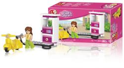 Sluban M38-B0518 Building Blocks Girls Dream Series Petrol Station