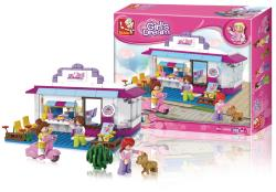 Sluban M38-B0528 Building Blocks Girls Dream Series Cafe