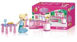 Sluban M38-B0238 Building Blocks Girls Dream Series Princess
