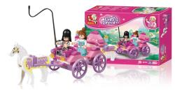 Sluban M38-B0239 Building Blocks Girls Dream Series Princess Carriage