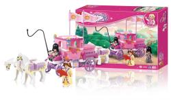 Sluban M38-B0250 Building Blocks Girls Dream Series Royal Carriage