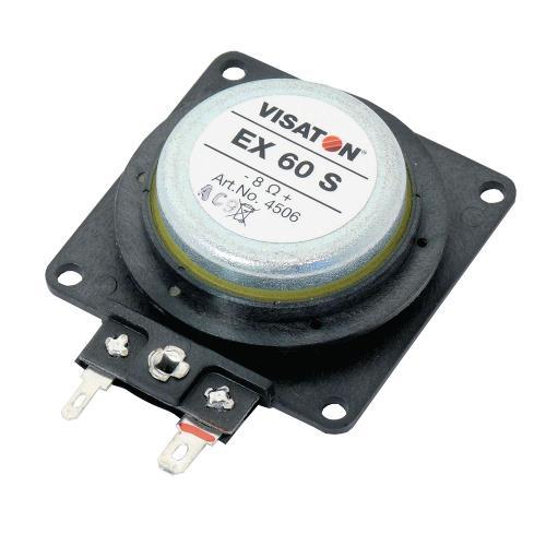 Visaton EX 60 S, 4 OHM Electro-dynamic exciter 25 W 4 ? 25 W