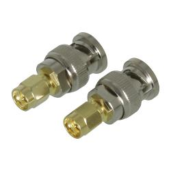 Valueline VLSP02960A SMA adapter SMA male - BNC male goud/zilver 2 st