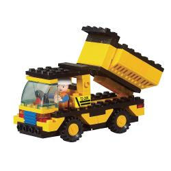 Sluban M38-B9500 Building Blocks Town Series Dump Truck