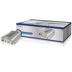 HQ HQ-INV1KC/24 Omvormer 24 - 230 V 1000 W met ingebouwde acculader
