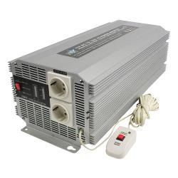 HQ HQ-INV2500/12 Omvormer 12 - 230 V 2500 W 2x schuko