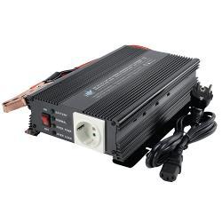 HQ HQ-INV600C/24 Omvormer 24 - 230 V 600 W met ingebouwde lader