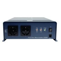 HQ HQ-PURE2KW-12 Zuivere sinus omvormer 12 - 230 V 2000 W schuko