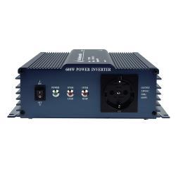 HQ HQ-PURE600-12 Zuivere sinus omvormer 12 - 230 V 600 W schuko