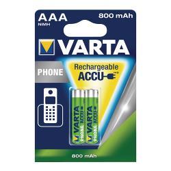 Varta 58398.101.402 Batterijpack DECT telefoons NiMH 1.2 V 750 mAh 2-blister