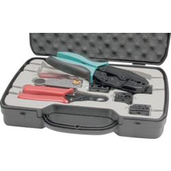 Proskit 6PK-330K Set of crimping pliers for coaxial connectors Coaxial connector