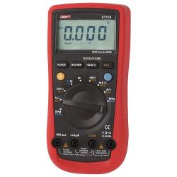 UNI-T UT109 Digitale multimeter Mean value 3999 cijfers 1000 VAC 1000 VDC 10 ADC