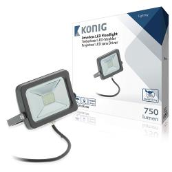 König KNLEDFLDRL10W LED Bouwlamp zonder Driver Binnen/Buiten 10 W 750 lm