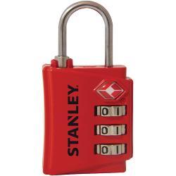 Stanley S742-055 Stanley 3 Digit red 30mm Zinc Security Indicator