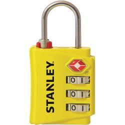 Stanley S742-056 Stanley 3 Digit yellow 30mm Zinc Security Indicator