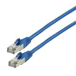 Valueline VLCP85110L3.00 CAT5e F/UTP Netwerkkabel RJ45 (8/8) Male - RJ45 (8/8) Male 3.00 m Blauw