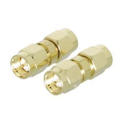 Valueline VLSP02941A SMA koppelstuk female - female goud 2 st