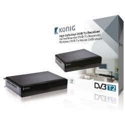 König DVB-T2 FTA10 Full HD DVB-T2 Ontvanger 1080p