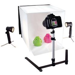König KN-STUDIO10NUK Foldable Mini Photo Studio Halogen 40 x 40 x 40 cm