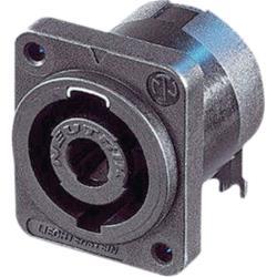 Neutrik NL4MD-H-3 Appliance plug, Speakon Zwart 4P