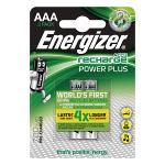 Energizer 5341699200 Oplaadbare NiMH Batterij AAA 1.2 V Power Plus 700 mAh 2-Blister