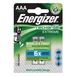 Energizer 53541686200 Oplaadbare NiMH Batterij AAA 1.2 V Extreme 800 mAh 2-Blister
