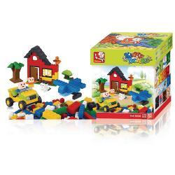 Sluban M38-B0502 Bouwstenen Kiddy Bricks Basisbouwsteentjes 415 st Meisjes