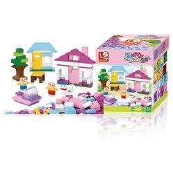 Sluban M38-B0503 Bouwstenen Kiddy Bricks Basisbouwsteentjes 415 st Meisjes