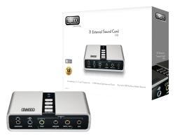 Sweex SC016 Sweex 7.1 Externe USB-geluidskaart