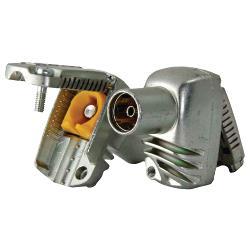 Televés 4312432 Coax Connector Female Metaal Zilver