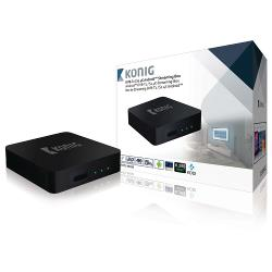 König DVB-TS2 4KASB 4K Android Streaming Box Met Fly Mouse