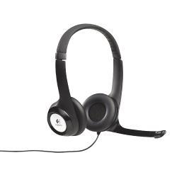 Logitech 981-000406 Headset On-Ear USB Bedraad Ingebouwde Microfoon Zwart