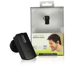 Mr. Handsfree BLUE LUXE Headset In-Ear Bluetooth Ingebouwde Microfoon Zwart