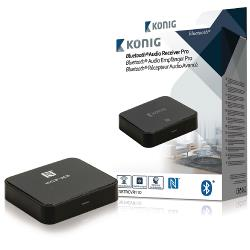 König CSBTRCVR110 Audio Receiver Advanced Bluetooth SPDIF Zwart