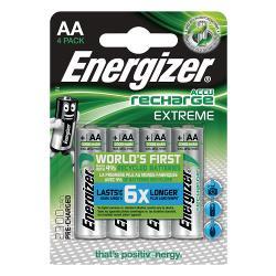 Energizer 53541689300 Oplaadbare NiMH Batterij AA 1.2 V Extreme 2300 mAh 4-Blister