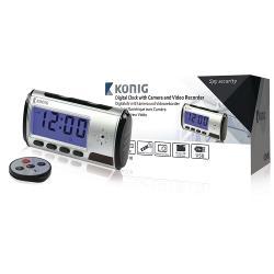 König SAS-DVRDCD10 Bureauklok met Geïntegreerde Camera