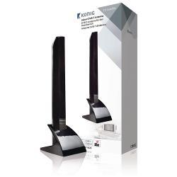 König KNT-DVBT-IN20 DVB-T/T2 - DAB+ Binnen Antenne 15 dB VHF / UHF
